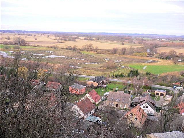 Blick auf das Oderbruch östlich von Bad Freienwalde. Foto H. Domnick